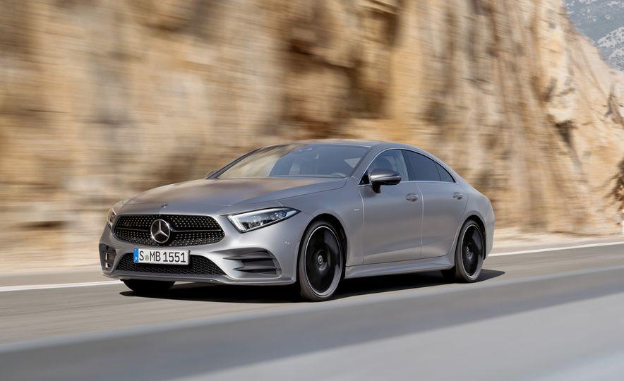 2019 Mercedes-Benz CLS-class - Slide 1