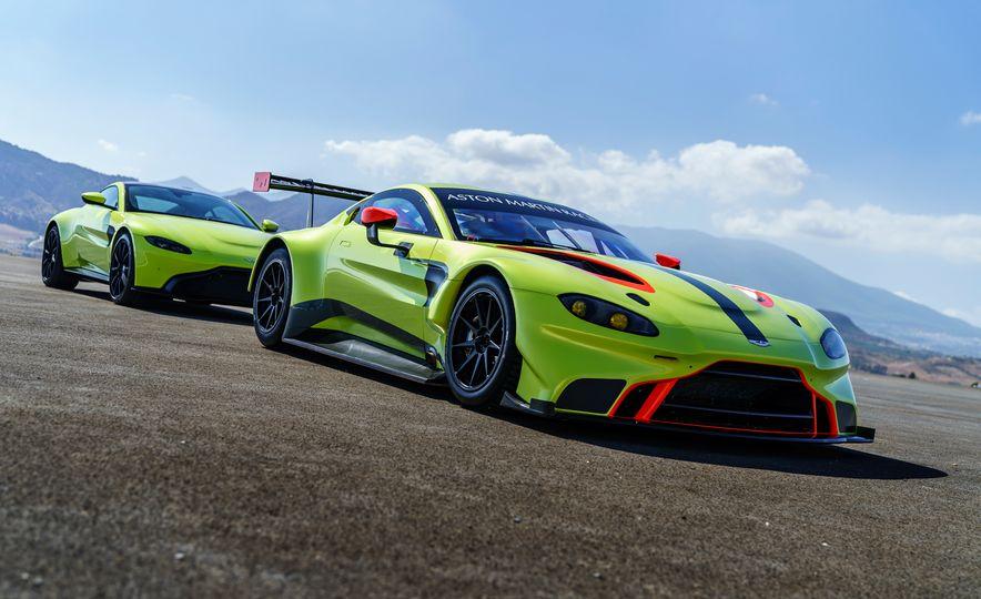 Aston Martin Vantage GTE race car - Slide 1