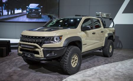 The Chevrolet Colorado ZR2 AEV Concept Is Seriously Hard Core—and Chevy Might Build It