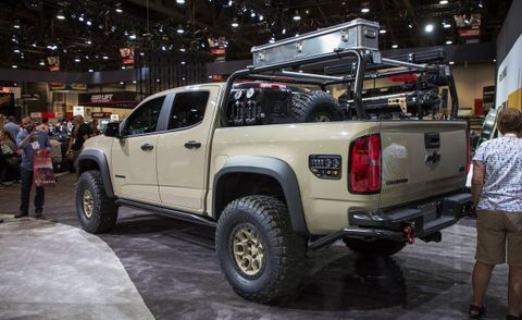 The Chevrolet Colorado Zr2 Aev Concept Is Seriously Hard Core News