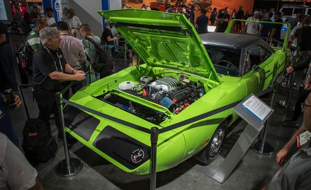 You Can Now Hellcat Whatever You Want with Mopar's 707-HP Hellcrate Engine