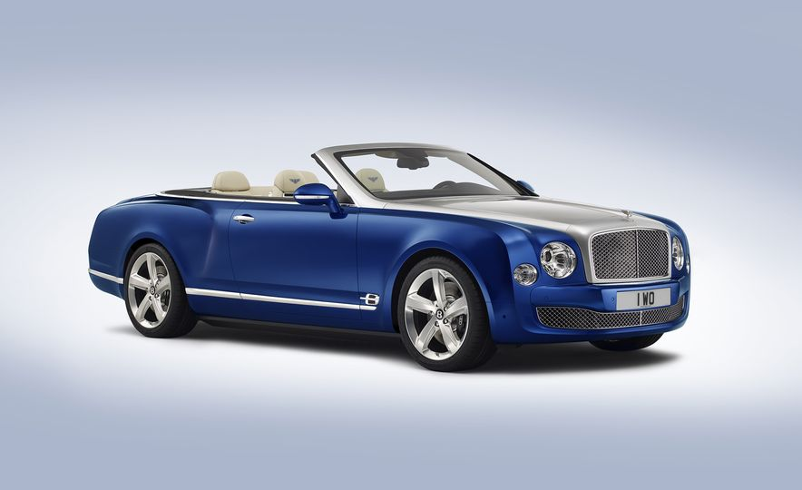 Bentley Grand Convertible concept - Slide 1
