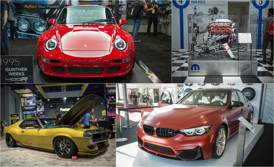 Highlights From The SEMA Show In Las Vegas - Car show in vegas today