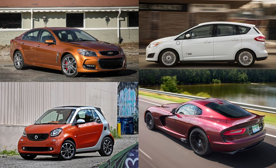 Full Stop: These Are the Cars That Won't See 2018 - Slide 1