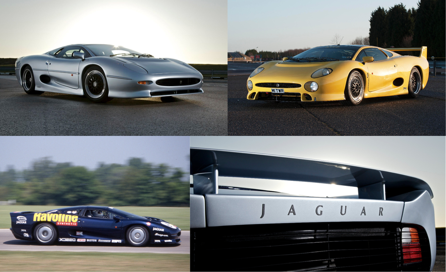 Flawed but Awesome: Jaguar's XJ220 Supercar is 25 Years Old - Slide 1