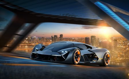 The Body Electric: Lamborghini Terzo Millennio EV Concept Features Energy-Storing Body Panels