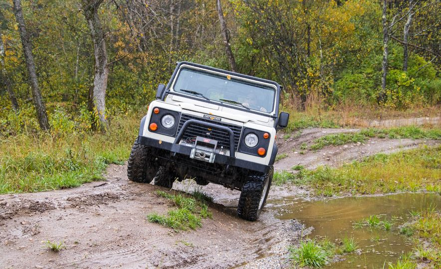 Land Rover Defender Experience - Slide 5