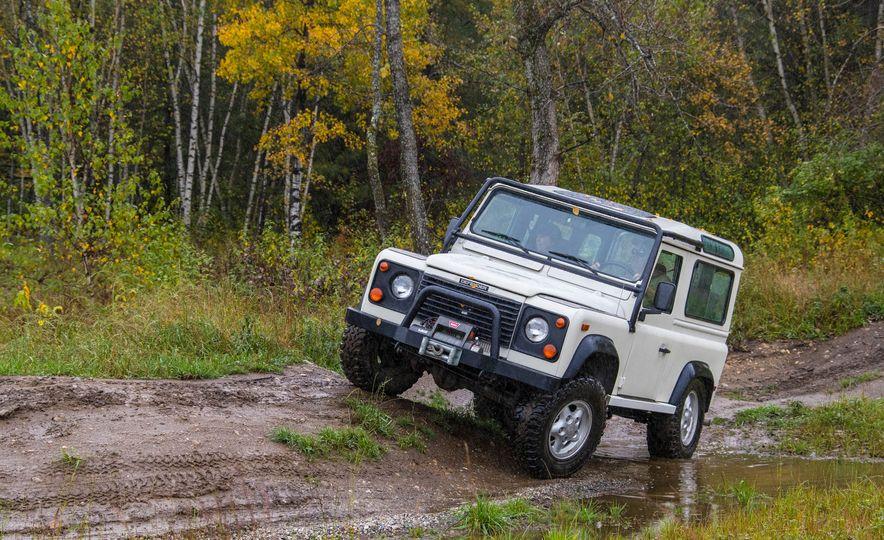 Land Rover Defender Experience - Slide 9