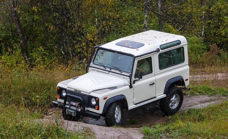 Land Rover Defender Experience - Slide 11