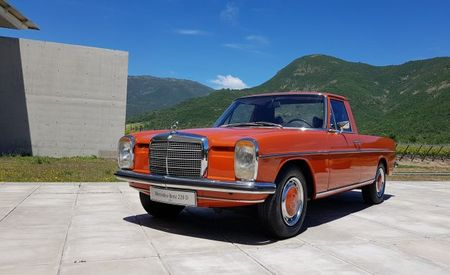 "The W115-Based ""La Pickup"" Was a Mercedes-Benz El Camino"
