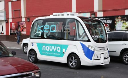 Letting It Ride: Las Vegas Puts U.S.'s First Fully Self-Driving Shuttle into Service