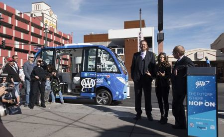 Shuttle Down! Self-Driving-Shuttle Era Begins with a First-Day Crash in Las Vegas