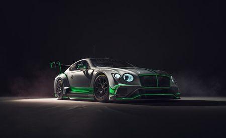 Continental Breakfast: Bentley Reveals New GT3 Race Car