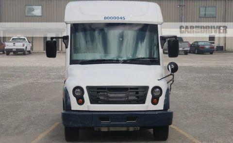 Mahindra Us Postal Service Truck Spy Photo