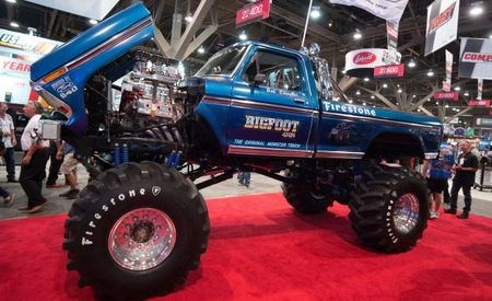 Big Star: The Original Bigfoot Stomps In to the SEMA Show!