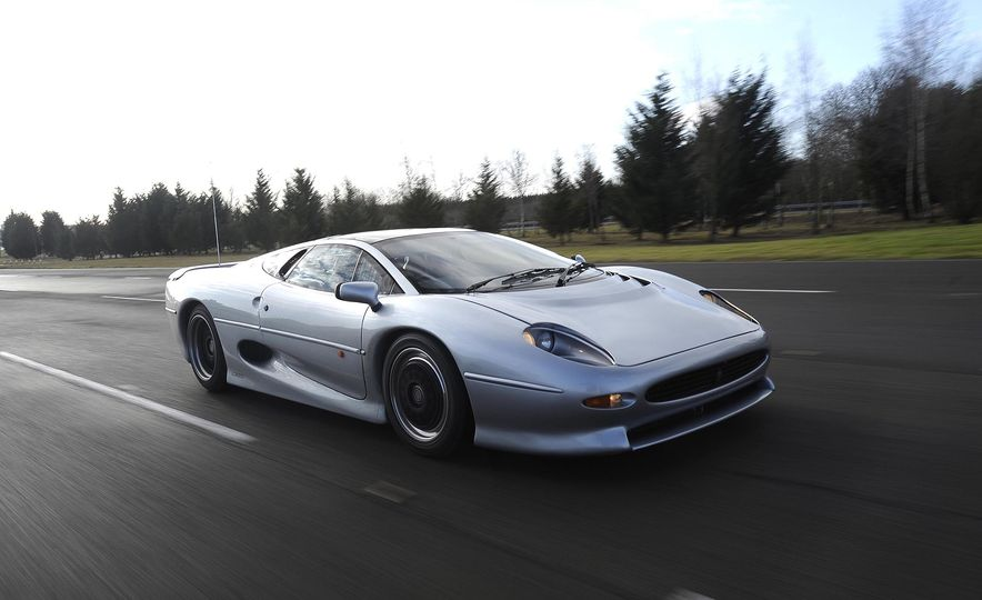 Flawed but Awesome: Jaguar's XJ220 Supercar is 25 Years Old - Slide 5