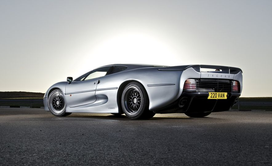 Flawed but Awesome: Jaguar's XJ220 Supercar is 25 Years Old - Slide 6