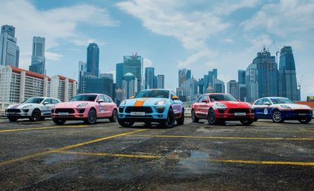 Singaporsche? Five Macans Flaunt Historic Porsche Racing Liveries in Singapore