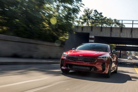 Kia Stinger Gt By The Numbers