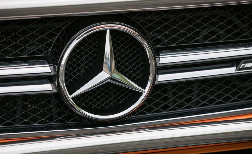 2017 Mercedes-AMG G63 - Slide 34