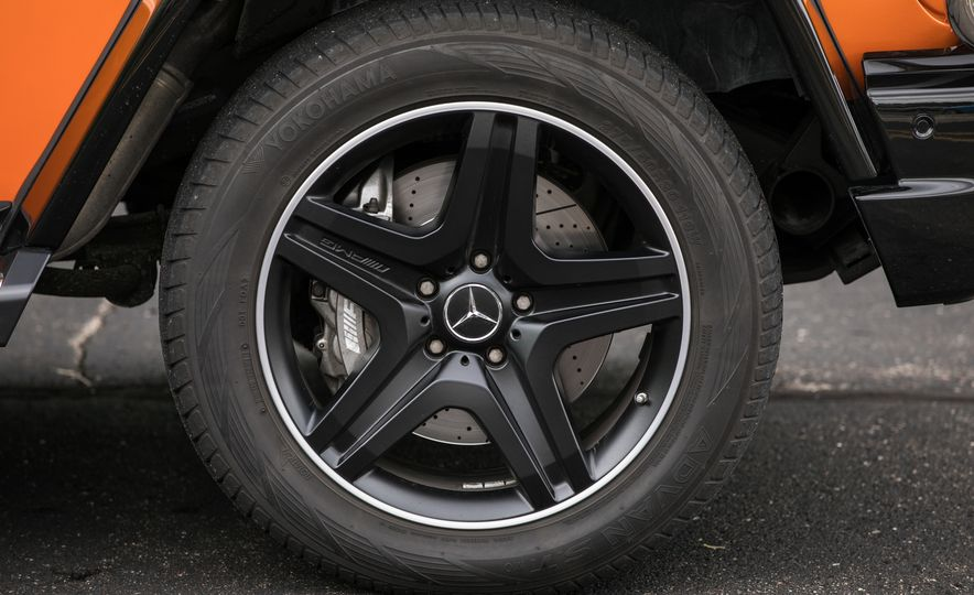 2017 Mercedes-AMG G63 - Slide 38