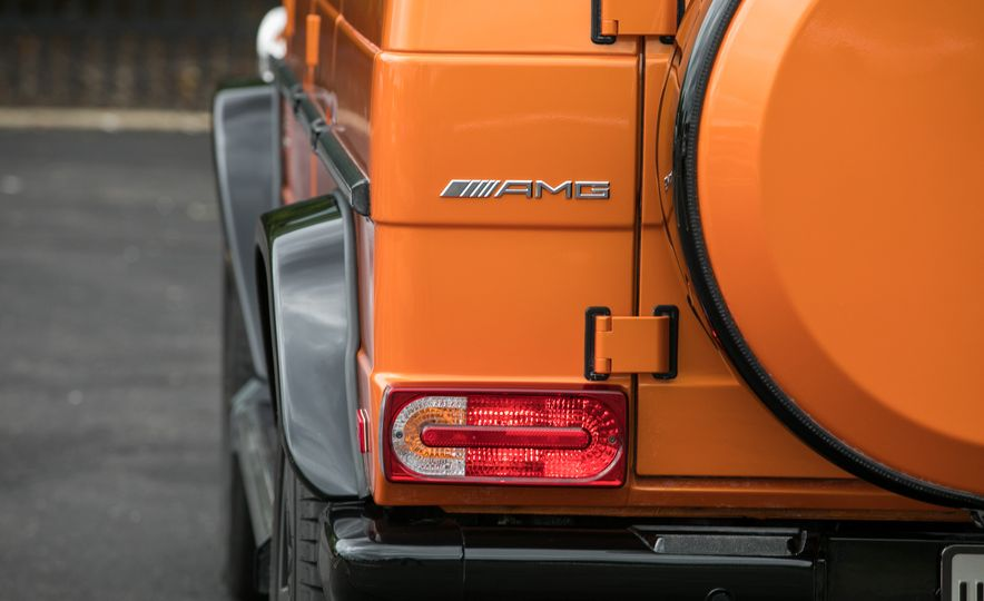2017 Mercedes-AMG G63 - Slide 46