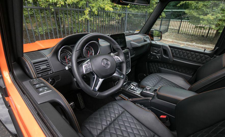2017 Mercedes-AMG G63 - Slide 52
