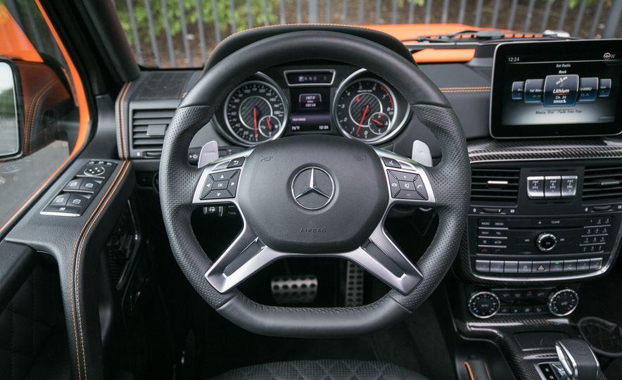 2017 Mercedes-AMG G63 - Slide 60