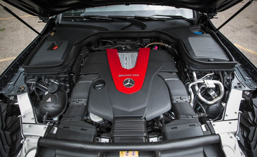 2017 Mercedes-AMG GLC43 Coupe - Slide 56