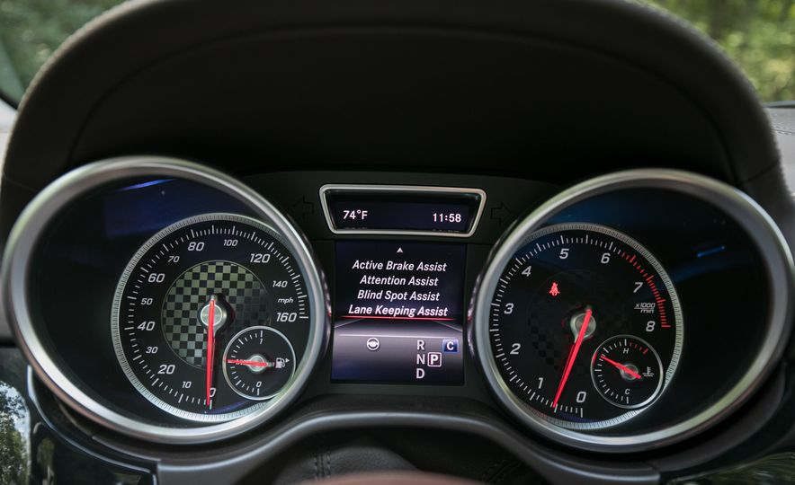 2017 Mercedes-AMG GLE43 - Slide 53
