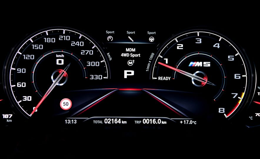 2018 BMW M5 - Slide 45