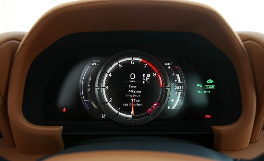 2018 Lexus LC500h - Slide 59