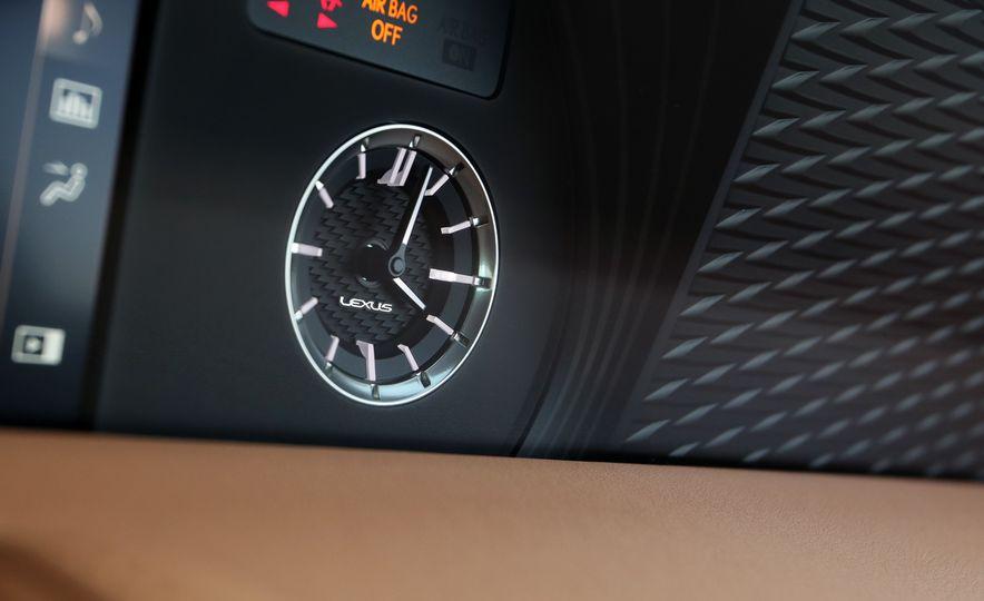 2018 Lexus LC500h - Slide 66