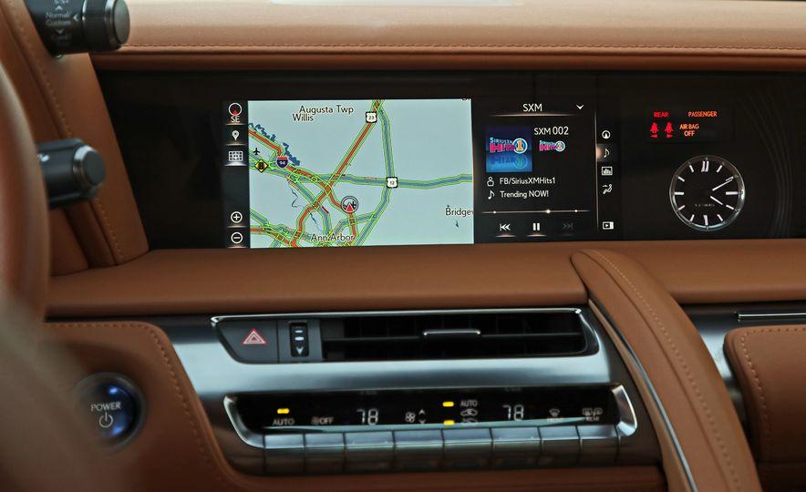 2018 Lexus LC500h - Slide 67