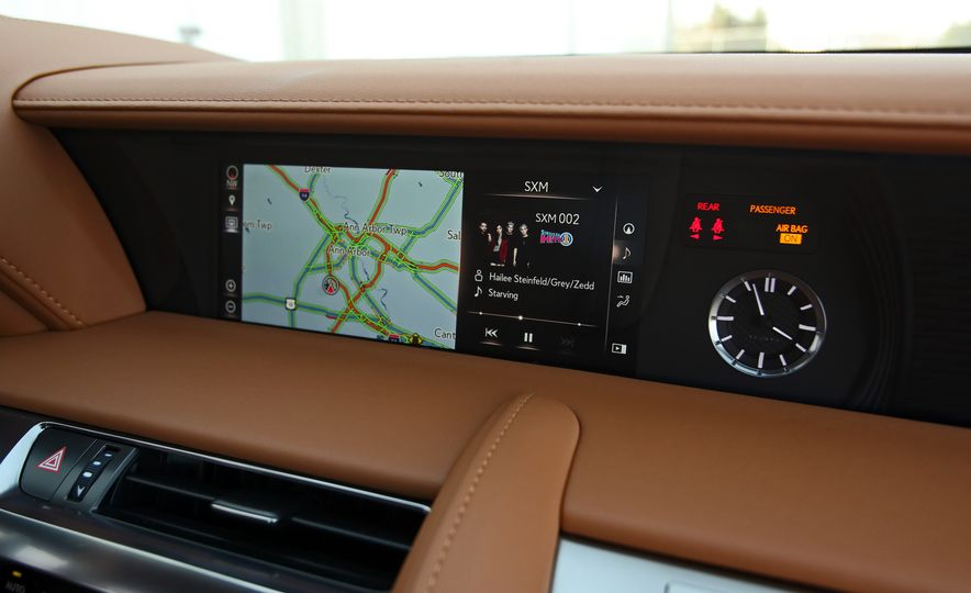 2018 Lexus LC500h - Slide 69