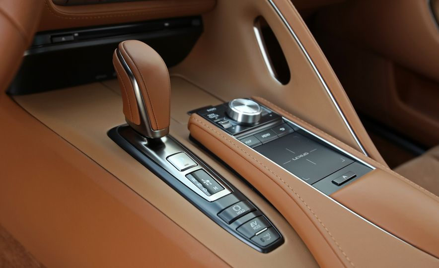 2018 Lexus LC500h - Slide 75