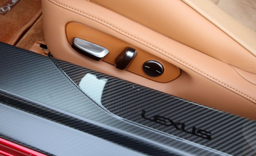 2018 Lexus LC500h - Slide 87