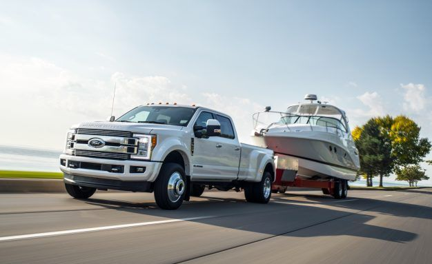 Shake Hands with Beef: Ford Ups 2018 Super Duty Power Figures