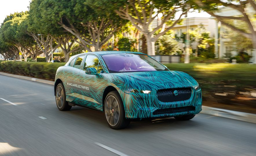 2019 Jaguar I-Pace prototype - Slide 8