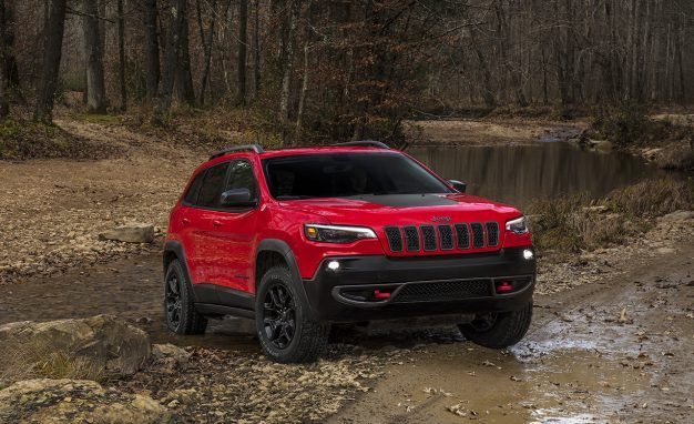 Here It Is: The Restyled 2019 Jeep Cherokee