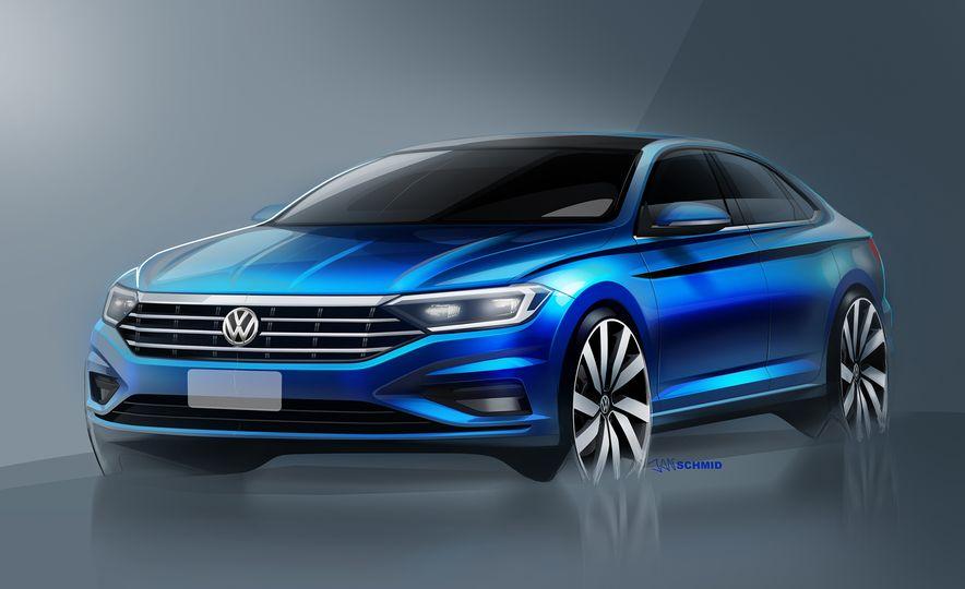 2019 Volkswagen Jetta (artist's rendering) - Slide 1