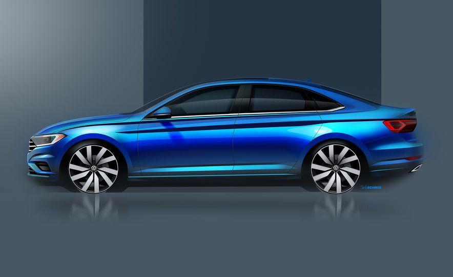 2019 Volkswagen Jetta (artist's rendering) - Slide 2