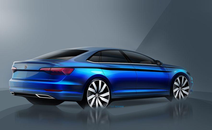 2019 Volkswagen Jetta (artist's rendering) - Slide 3