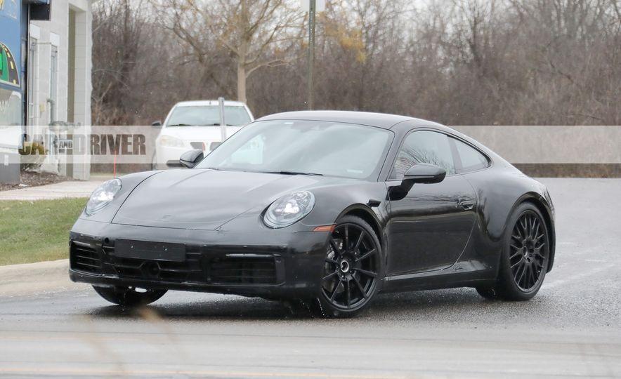 2020 Porsche 911 (spy photo) - Slide 11
