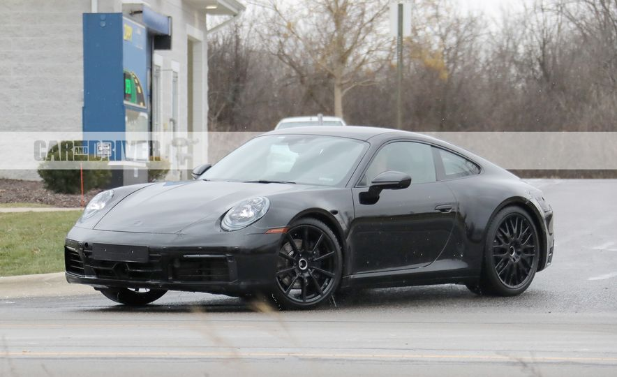 2020 Porsche 911 (spy photo) - Slide 12