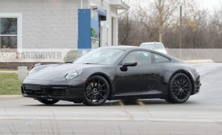 2020 Porsche 911 Interior Revealed—It Has a Real Cupholder!