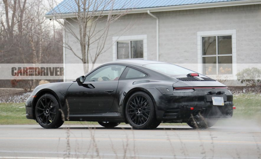 2020 Porsche 911 (spy photo) - Slide 15