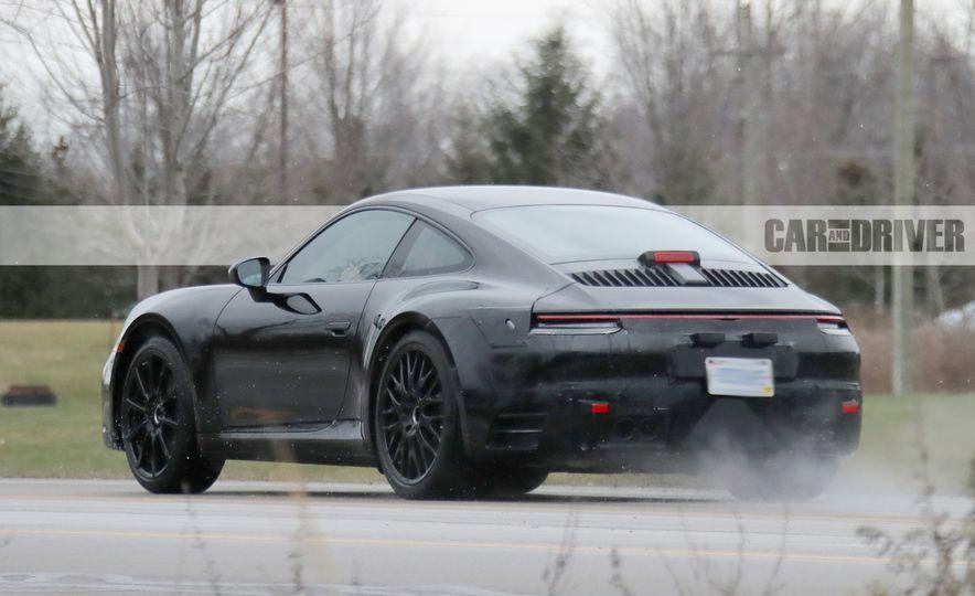 2020 Porsche 911 (spy photo) - Slide 8