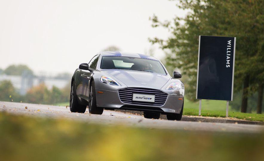 Aston Martin RapidE prototype - Slide 1