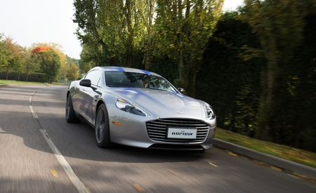 The Aston Martin Rapide E Will Be a Track-Ready Electric Car